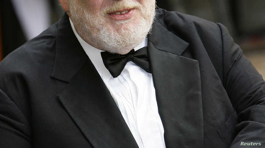 """British actor Richard Griffiths at the British premiere of movie """"Harry Potter and the Order of the Phoenix"""" in London, (File Photo)."""