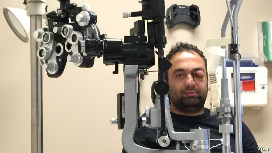 : Faisal Razmal, who worked as an interpreter for U.S. forces in Afghanistan for five years, saw his dream of life in America come true, only to turn into a nightmare when he was shot in the eye with a flare gun during a confrontation in Sacramento.