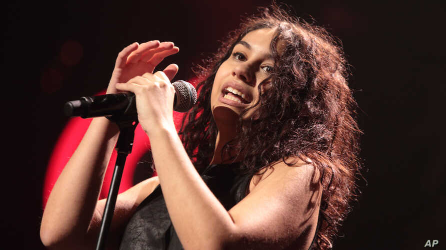 Alessia Cara performs in concert during Hot 99.5's iHeartRadio Jingle Ball 2015 at the Verizon Center on Dec. 14, 2015, in Washington, D.C.