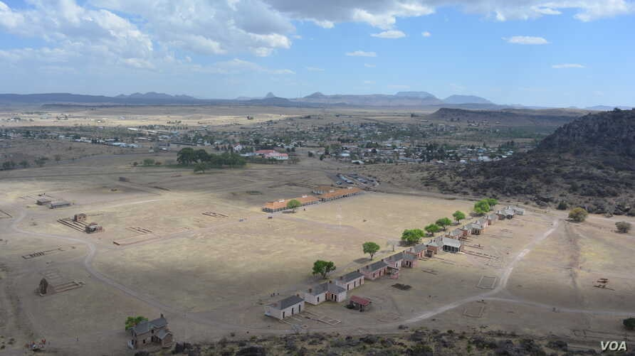 A network of walking trails around Fort Davis offers spectacular views of the entire historic site.