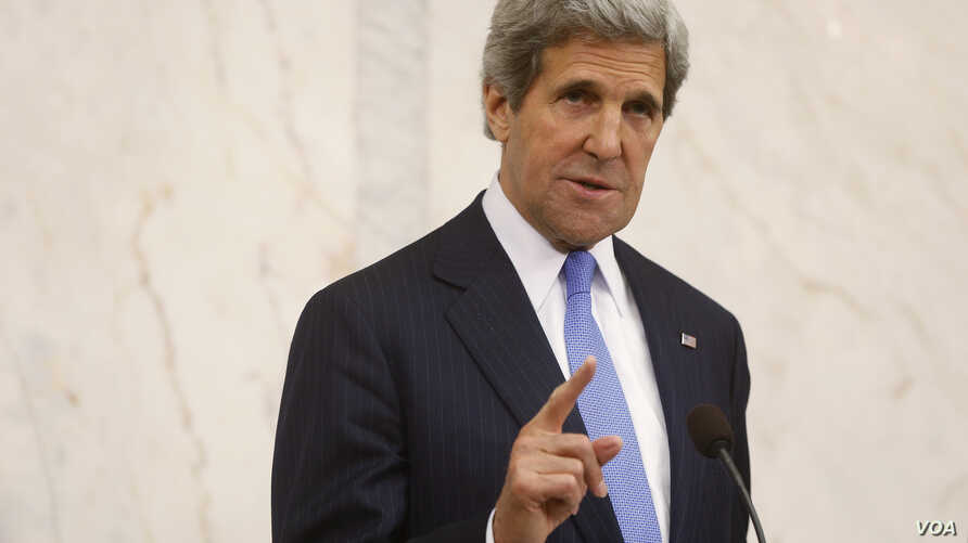 Kerry to Mideast for Syria Talks