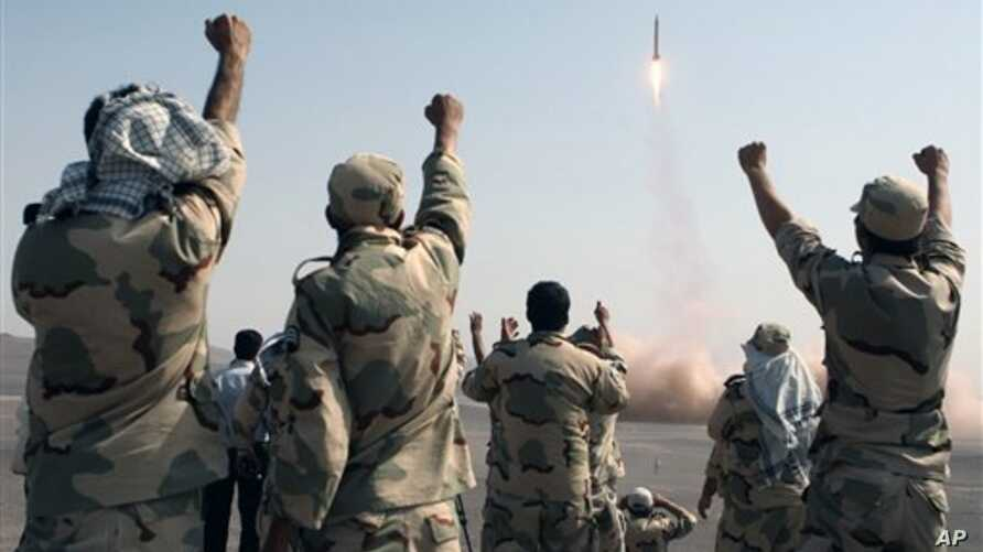 Iran Missiles Test July 3, 2012