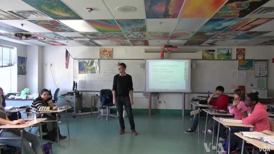 Teacher Finds Artful Way to Inspire Students