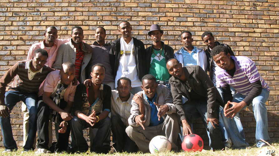 The 11 Brothers started as a soccer team in Somalia and have reassembled as a group of refugee artists in South Africa
