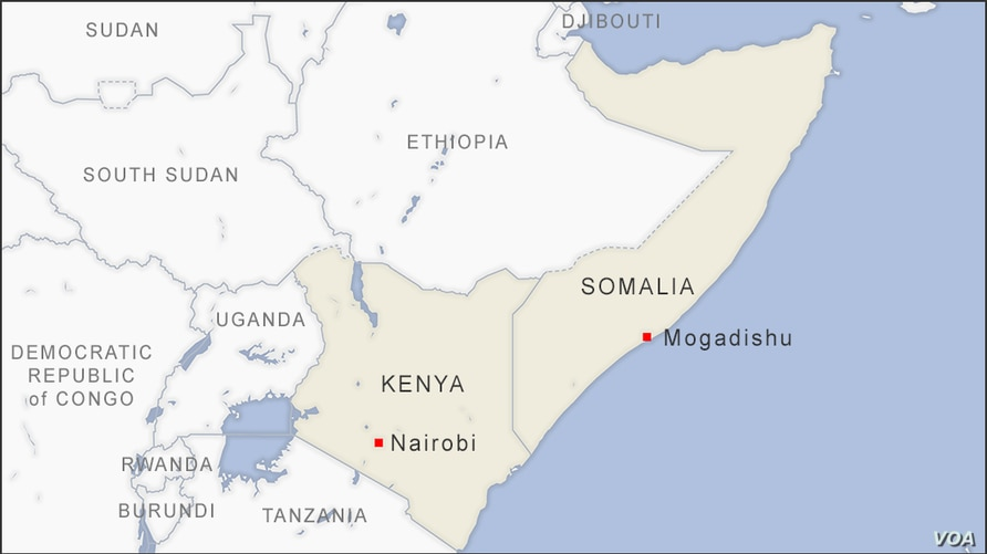 Somalia and Kenya