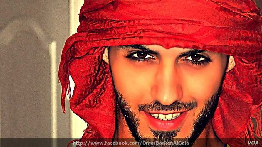Omar Gala of Dubai claims to be one of the men expelled from Saudi Arabia for being too handsome.