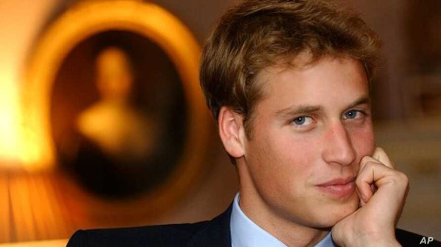 Britain's Prince William, [eldest son of The Prince of Wales]