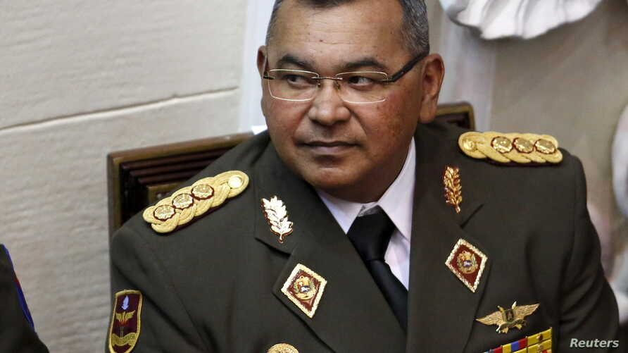 Nestor Reverol, General Commander of the Venezuelan National Guard, attends the annual state of the nation address by President Nicolas Maduro at the National Assembly in Caracas, Jan. 15, 2016.