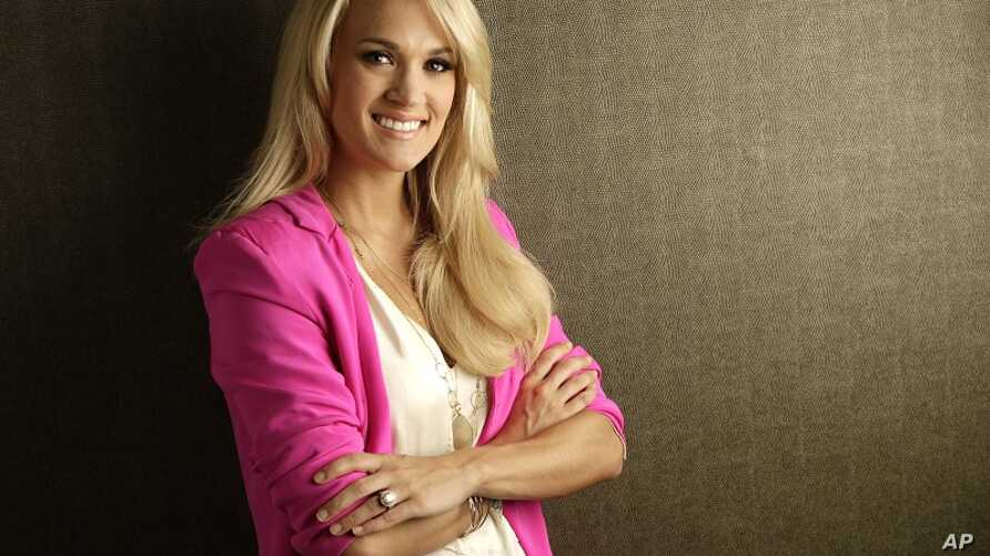Carrie Underwood in Nashville, Tennessee, May 1, 2012.