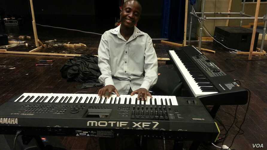 Thocco Katimba, a gospel artist who sells his own music. (Photo courtesy of Thocco Katimba)