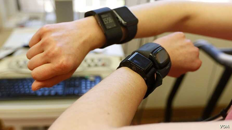 A new study suggests fitness trackers aren't good at measuring the number of calories you burn. (Stanford)