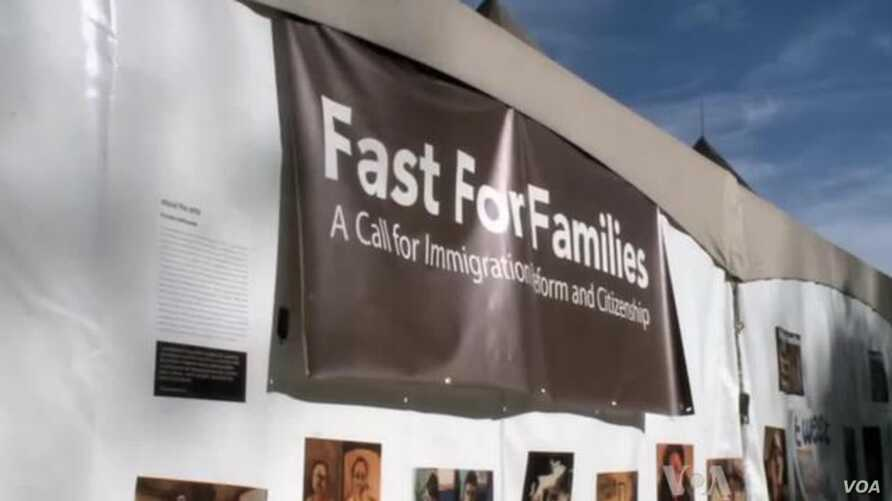 Activists Fast for Immigration Reform