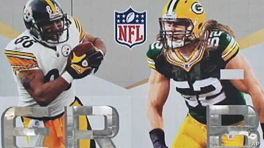 The Green Bay Packers will play the Pittsburgh Steelers in Super Bowl XLV on February 6, 2011 at Cowboys Stadium in Arlington, Texas,
