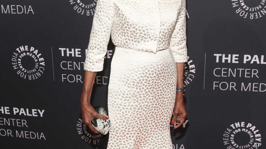 FILE - Cicely Tyson attends the The Paley Center Tribute to African-American Achievements in Television at Cipriani Wall Street in New York, May 13, 2015.