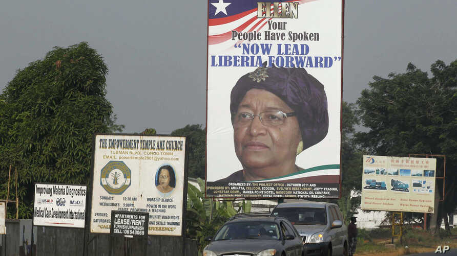 Liberia's President Ellen Johnson-Sirleaf ran for re-election with the nation's high maternal death rate on her mind.