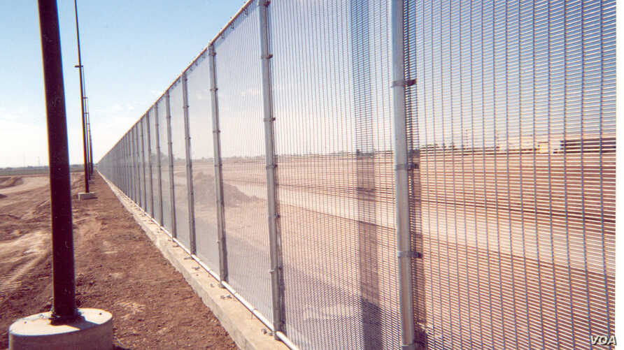Riverdale Mills fence is already in use along some portions of the U.S.-Mexico border.