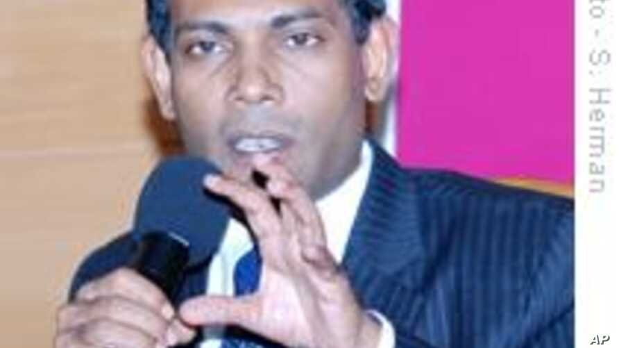 Maldives Leader Views Island Nation on Front Line of Fight to Mitigate Climate Change