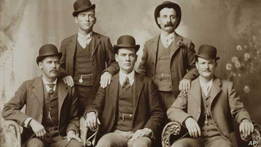 The Wild Bunch (1900).  National Portrait Gallery, Smithsonian Institution; gift of Pinkerton's, Inc.