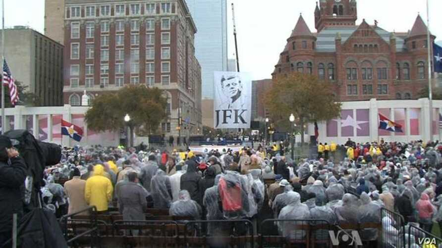 Dallas Honors Kennedy Legacy on 50th Anniversary of Assassination
