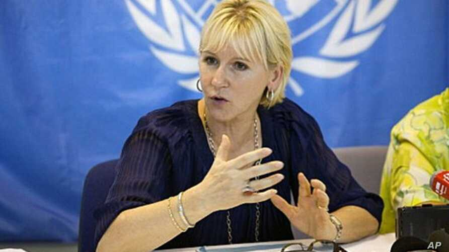 Margot Wallstrom, Special Representative of the Secretary-General of the United Nations in charge of Sexual Violences (2010 file photo)