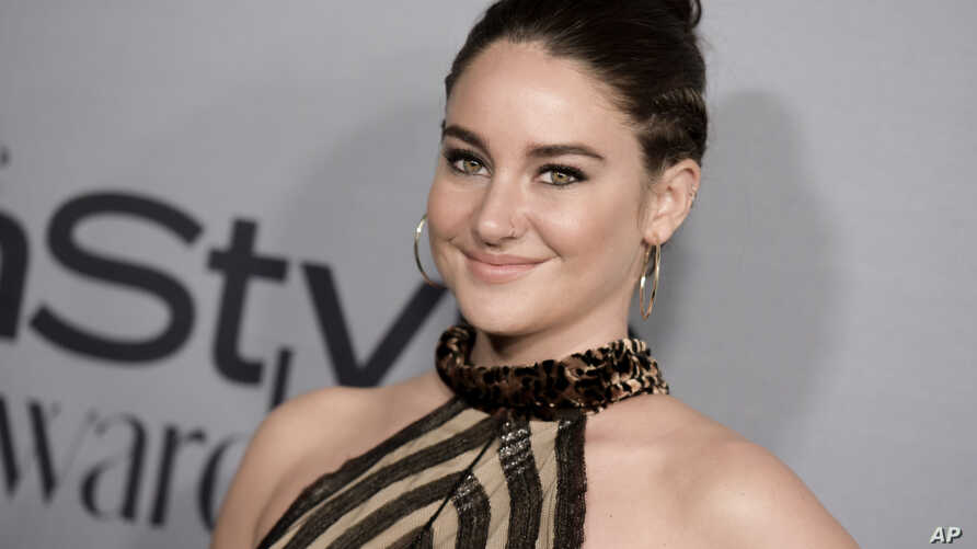 FILE - Shailene Woodley attends the 2nd Annual InStyle Awards at The Getty Center in Los Angeles.