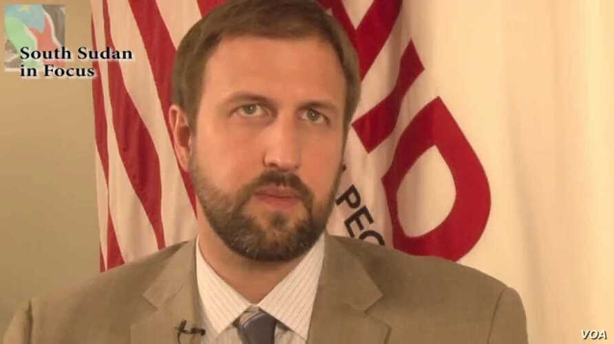 Jeremy Konyndyk, director of USAID's  Office of U.S, Foreign Direct Assistance