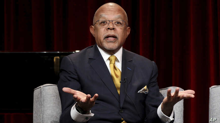 "FILE - Henry Louis Gates Jr. participates in the ""Reconstruction: America After Civil War"" panel during the PBS presentation at the Television Critics Association Winter Press Tour in Pasadena, Calif., Feb. 2, 2019."