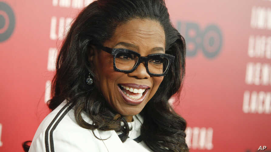 "Oprah Winfrey attends the premiere of HBO Films' ""The Immortal Life of Henrietta Lacks"" at the SVA Theatre on Tuesday, April 18, 2017, in New York."
