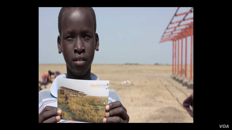"""Lost Boy"" Michael Kuany asked the people in his village what he could do to help them to improve their lives. They asked him to build a school."