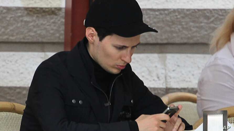 FILE - Pavel Durov.