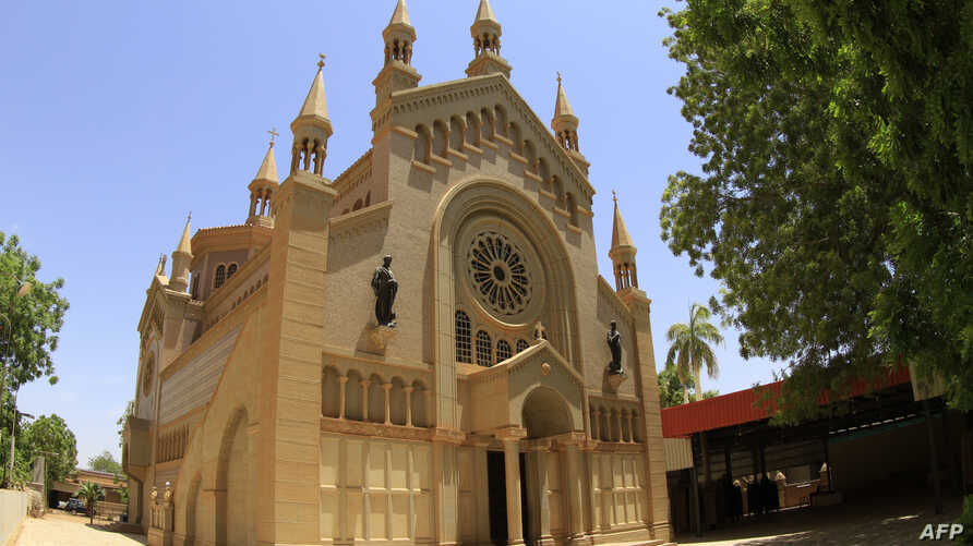 A Sudanese judge sentenced a Christian woman to hang for apostasy, despite appeals by Western embassies for respect for religious freedom. A view of St. Matthew's Catholic Cathedral near Khartoum, May 15, 2014.