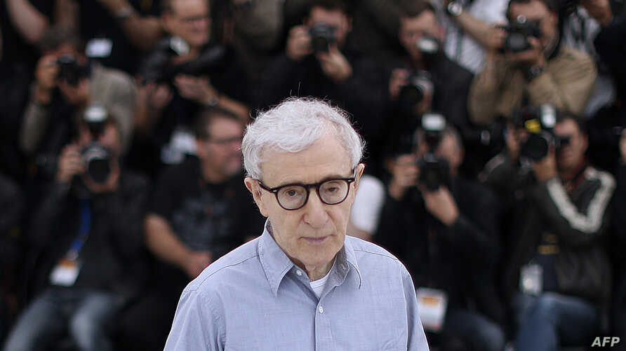 FILE - U.S. director Woody Allen attends the opening of the 69th Cannes Film Festival in Cannes, southern France, May 11, 2016.