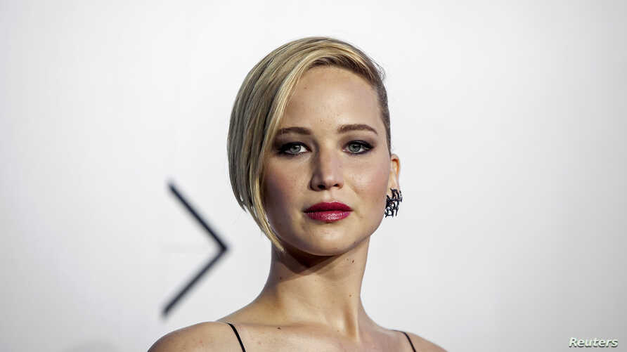 """Actress Jennifer Lawrence attends the """"X-Men: Days of Future Past"""" world movie premiere in New York, May 10, 2014."""