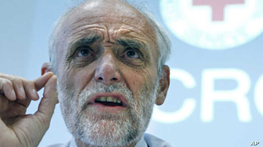 Jakob Kellenberger, President of the International Committee of the Red Cross (ICRC), (File)