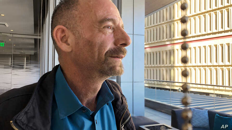 """Timothy Ray Brown, shown in Seattle March 4, 2019, is also known as the """"Berlin patient,"""" the first person to be cured of HIV infection, more than a decade ago. Now researchers are reporting a second patient has lived 18 months after stopping HIV tre"""