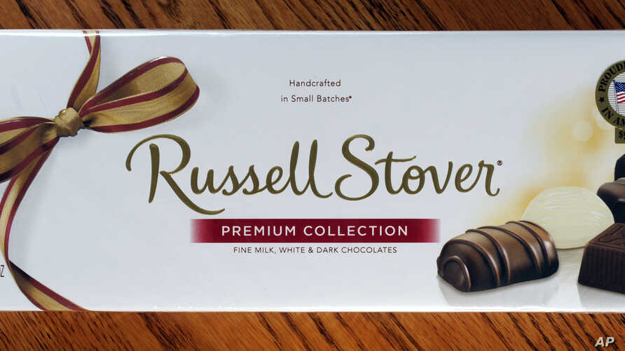 "Russell Stover's ""Premium Collection"" candies are shown in Kansas City, Kansas, July 14, 2014."