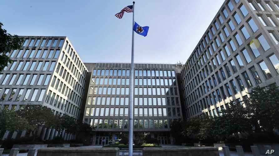 """FILE - The U.S. Office of Personnel Management, pictured in Washington, aims to drastically cut processing time for """"top secret"""" and """"secret"""" clearances."""