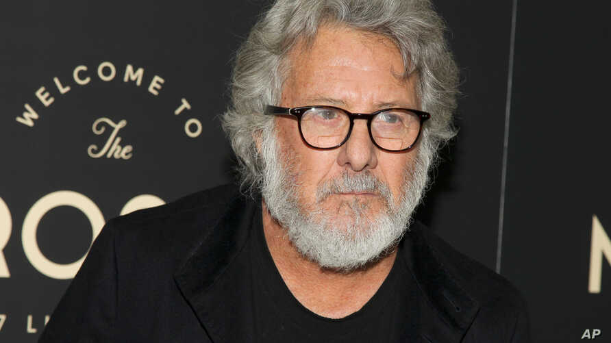 Actor Dustin Hoffman, shown at an independent movie theater's opening in New York, March 2, 2016, says Hollywood's racial diversity problems 'reflect what this country is.'
