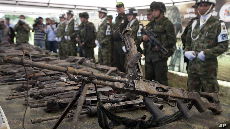 Romanian-born Virgil Georgescu, who was sentenced to 10 years in a U.S. prision, Nov. 28, 2016, for conspiring to sell military-grade weapons. The U.S.citizen sought to sell weapons to DEA agents posing as members of the Columbian rebel group FARC.