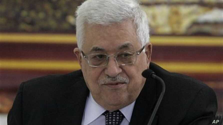 Palestinian President Mahmoud Abbas attends a meeting with the leading members of the PLO in the West Bank city of Ramallah, 02 Oct 2010