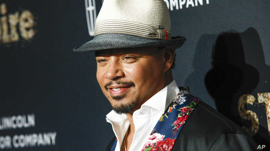"""FILE -  In a September 23, 2017 file photo, actor Terrence Howard attends Fox's celebration of the """"Empire"""" and """"Star"""" television shows at One World Observatory in New York."""