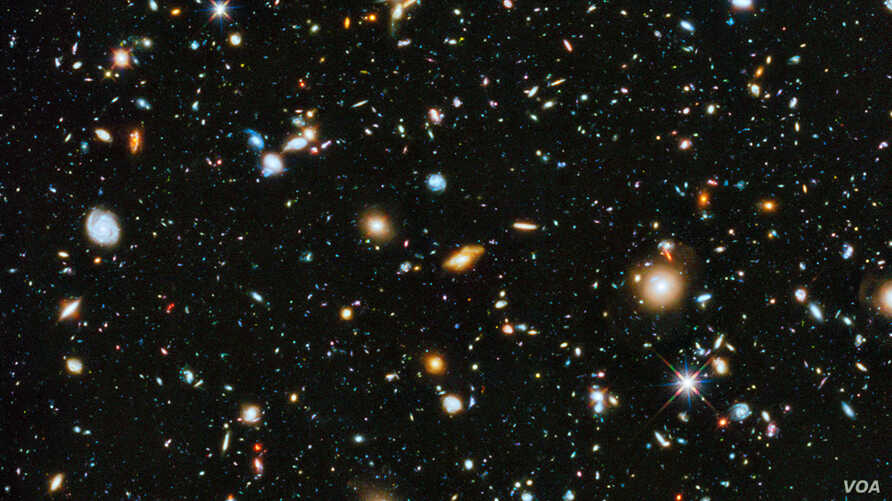 Astronomers using NASA's Hubble Space Telescope have assembled a comprehensive picture of the evolving universe – among the most colorful deep space images ever captured by the 24-year-old telescope. Researchers say the image, in new study called the
