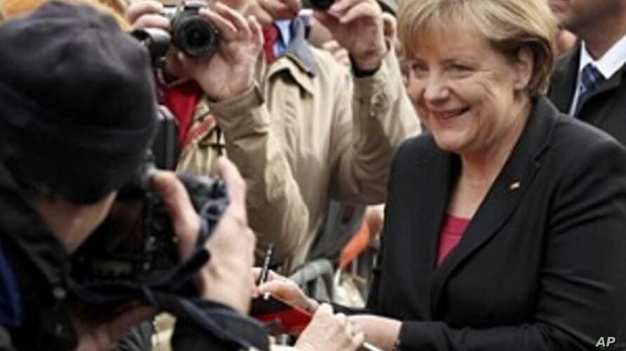 Germany Marks 20th Anniversary of Reunification