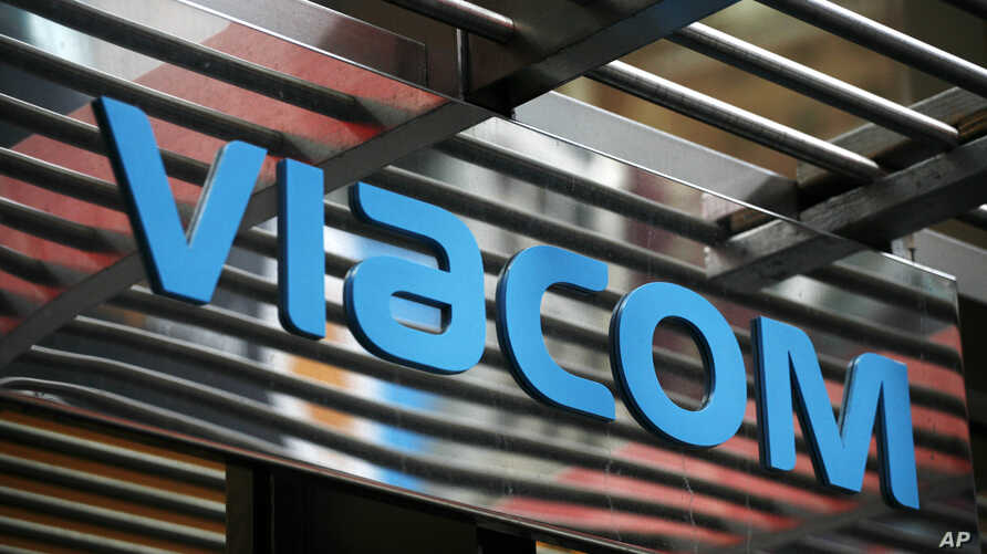 FILE - The entrance to Viacom's headquarters in New York. Viacom appealeda court decision on Dec. 3, 201, that YouTube obeyed copyright laws even though the Internet video site used to show thousands of pirated clips.