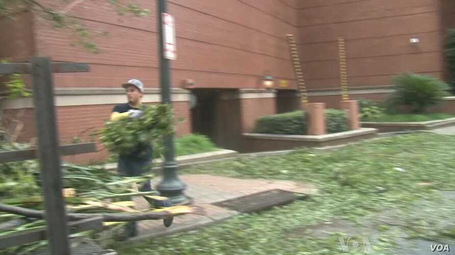 New Orleans Begins Cleanup As Isaac Recedes