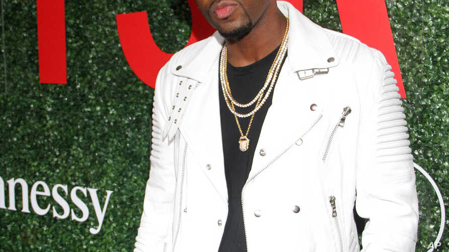 FILE - Recording artist Safaree Samuels seen an event in Los Angeles, California, June 4, 2016.
