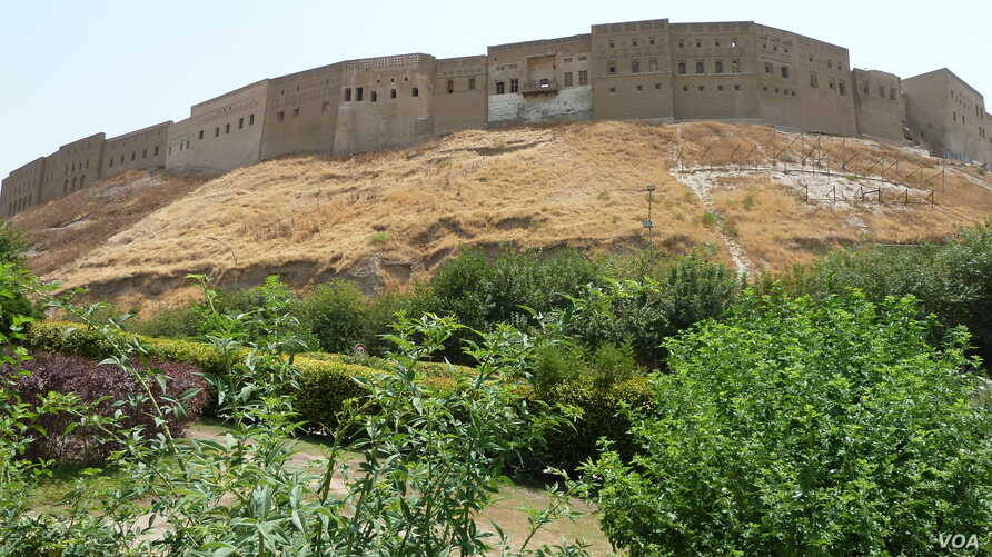 A view of the citadel in central Irbil.