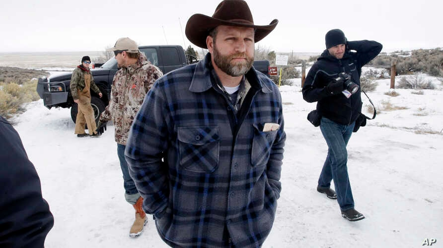 Ammon Bundy, one of the sons of Nevada rancher Cliven Bundy, arrives for an interview at Malheur National Wildlife Refuge, Jan. 5, 2016, near Burns, Oregon.