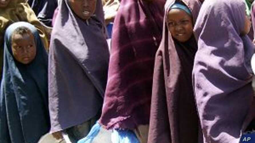 Aid Group Appeals for Drought Aid to Somalia
