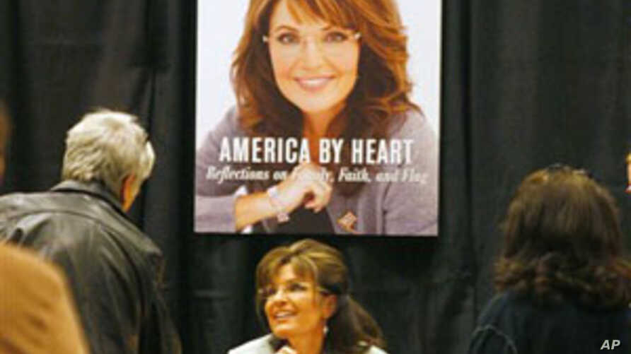 Palin Book Tour Spurs Presidential Speculation